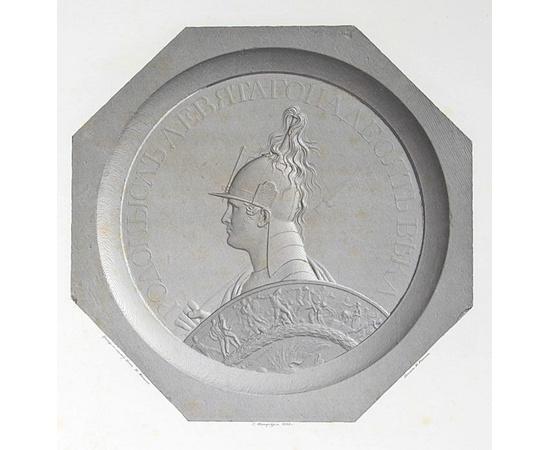 Медалионы в память военных событий 1812, 1813, 1814 и 1815 годов, изобретенные графом Ф. Толстым, и выгравированные на стали, по способу Бета, Н. Менцовым