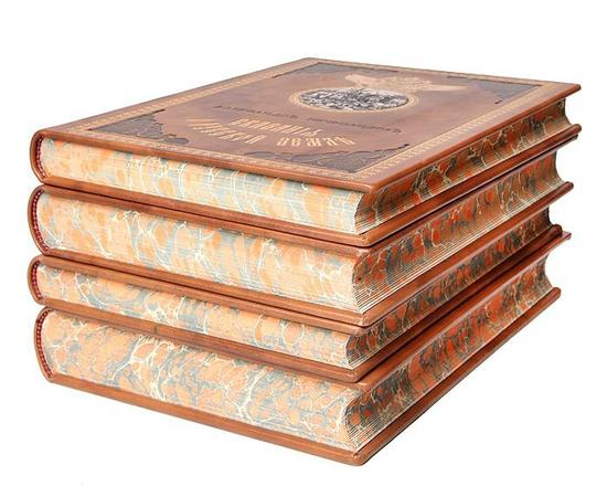 Сказания о Русской земле. В 4-х томах (комплект из 4 книг)