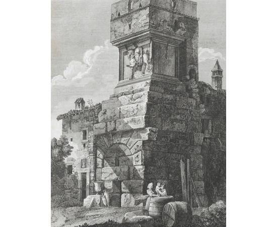 Nuova Raccolta di № cinquanta Vedute Principali di Roma. Альбом гравюр