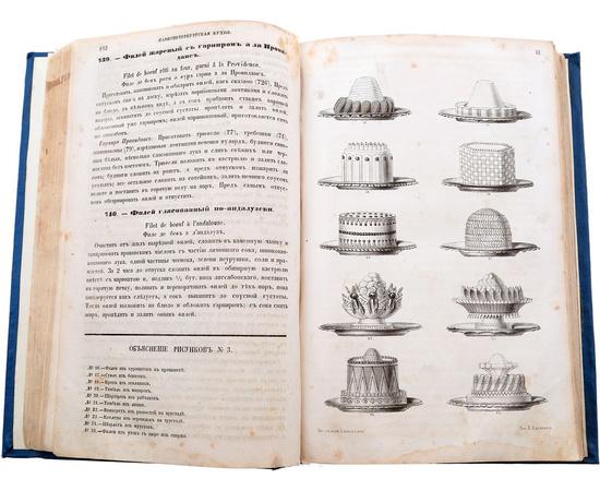С.-Петербургская кухня, заключающая в себе около 2000 различных кушаний и приготовлений