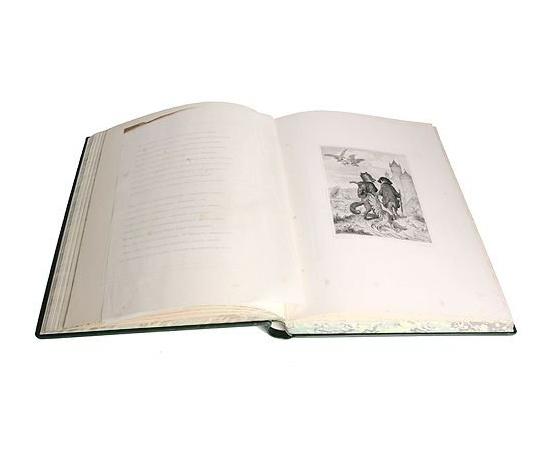Гете. Лис Патрикеич (Рейнеке-Лис). 36 эстампов на меди в лист и 24 гравюры дереве