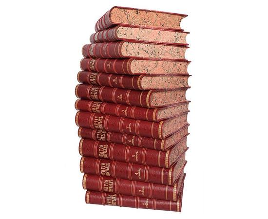 Жития святых святителя Димитрия Ростовского. С крайне редким 2-м дополнительным томом (комплект из 14 книг)