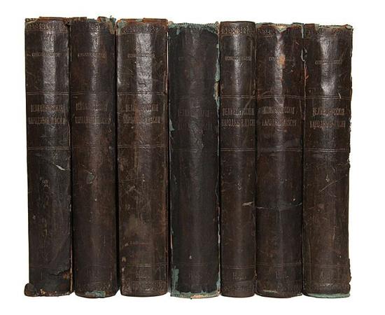 Великорусские народные песни. В 7 томах (комплект)
