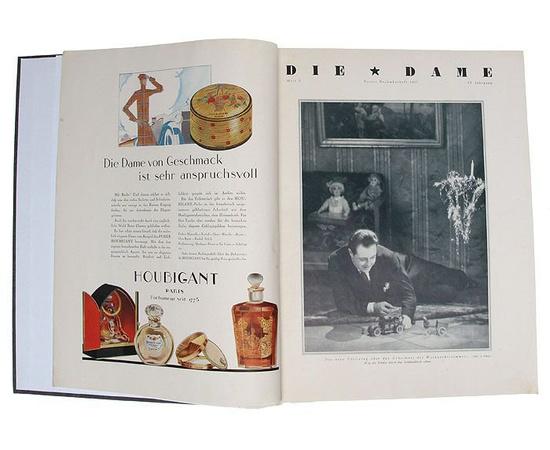 "Журнал ""Die Dame"" №№ 5, 6 за 1927 год, №№ 8, 9, 11, 12, 13, 14, 15, 16 за 1928 год (конволют)"