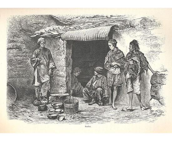 Иностранные народы. Этнографическое описание старого и нового мира