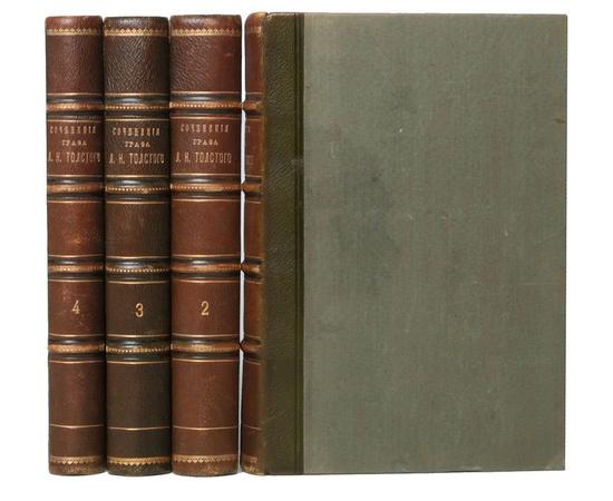 Л. Н. Толстой. Полное собрание сочинений, печатавшихся до сих пор заграницей (комплект из 4 книг)
