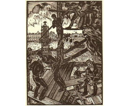 Гравюра на дереве - В пяти выпусках в одной книге