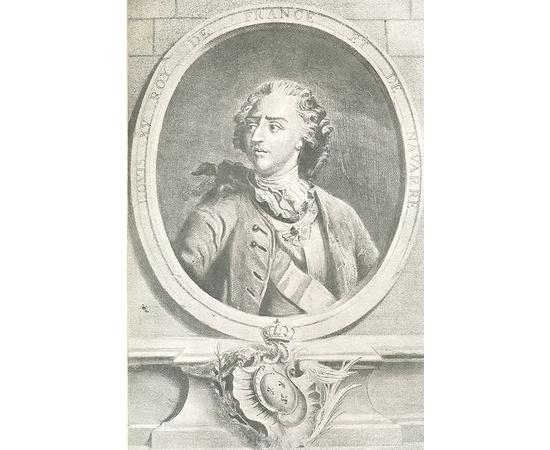 Императрица Елизавета и Людовик XV