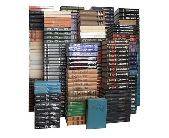 Библиотека русской классики (комплект из 578 книг)