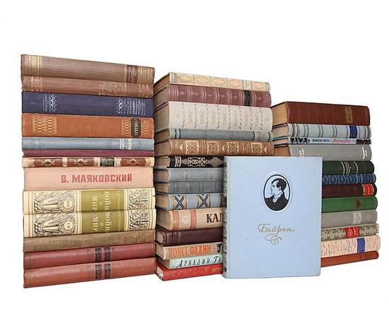 Шедевры советского книгоиздания (комплект из 39 книг)