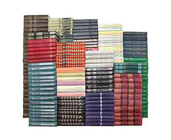 Библиотека зарубежной классики (комплект из 535 книг)