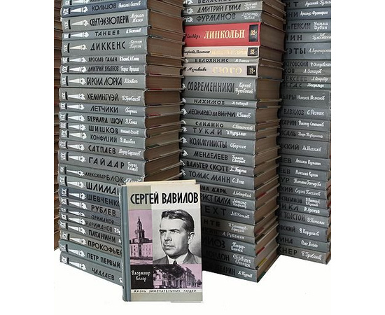 """Библиотека из серии """"Жизнь замечательных людей"""" (комплект из 303 книг)"""
