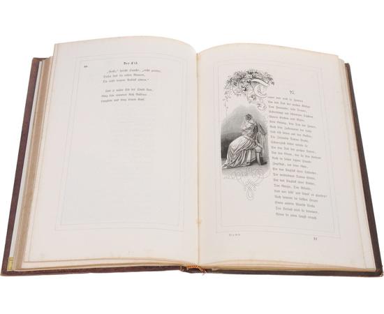 Der Cid. Сказание о Сиде. Из библитотеки Александра II, с экслибрисом. Подносное роскошное издание