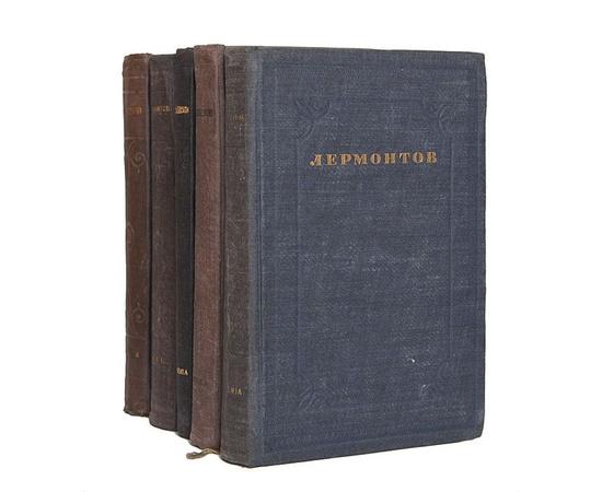 М. Ю. Лермонтов. Полное собрание сочинений в 5 томах (комплект из 5 книг) 1936 года